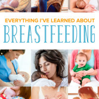 Everything I've Learned about Breastfeeding
