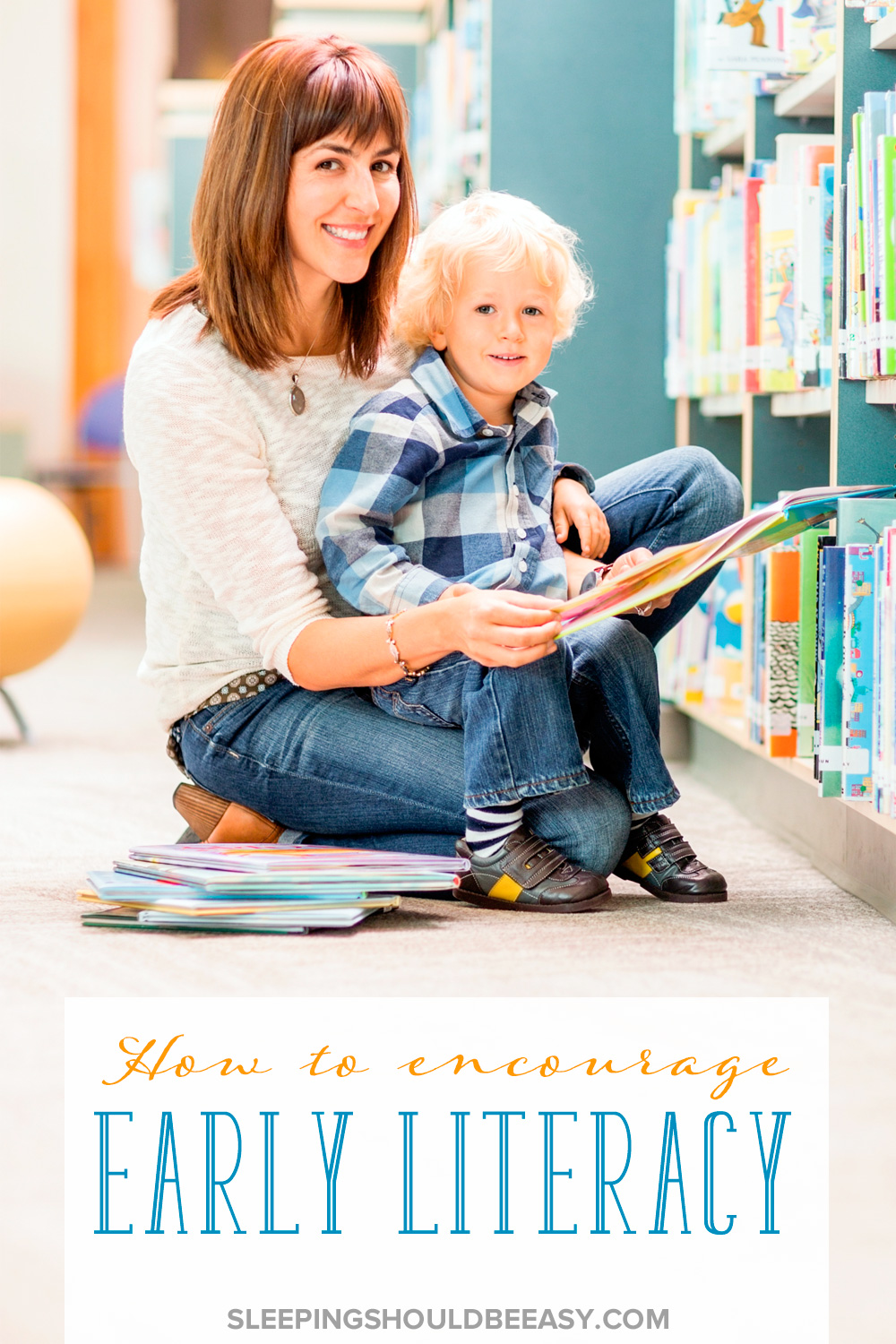 Learning to read and fostering a love of knowledge can start as early as toddlerhood. Encourage early literacy with your toddler with these tips.