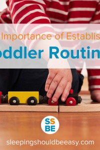 The Importance of Establishing Toddler Routines