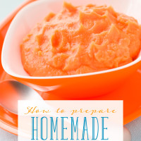 How to Prepare Homemade Baby Food