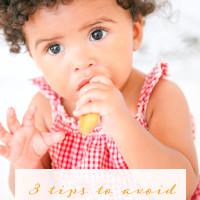 3 Tips to Avoid Toddler Food Battles