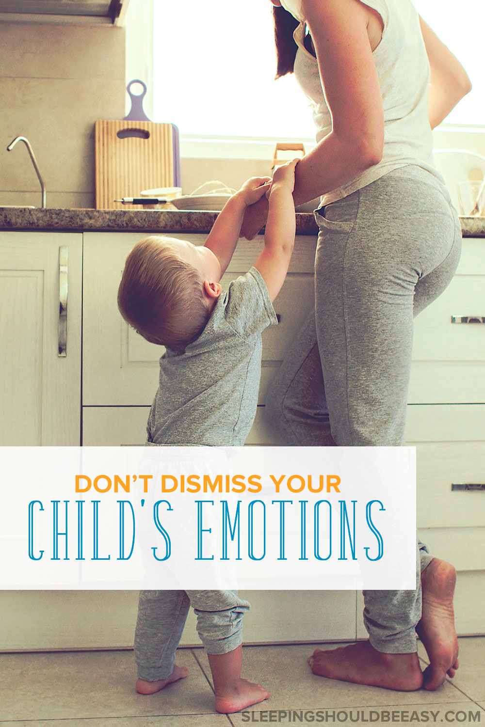 "How often do we reassure our kids by saying ""It's okay""? We try to make them feel better, but here's why you shouldn't dismiss children's emotions."