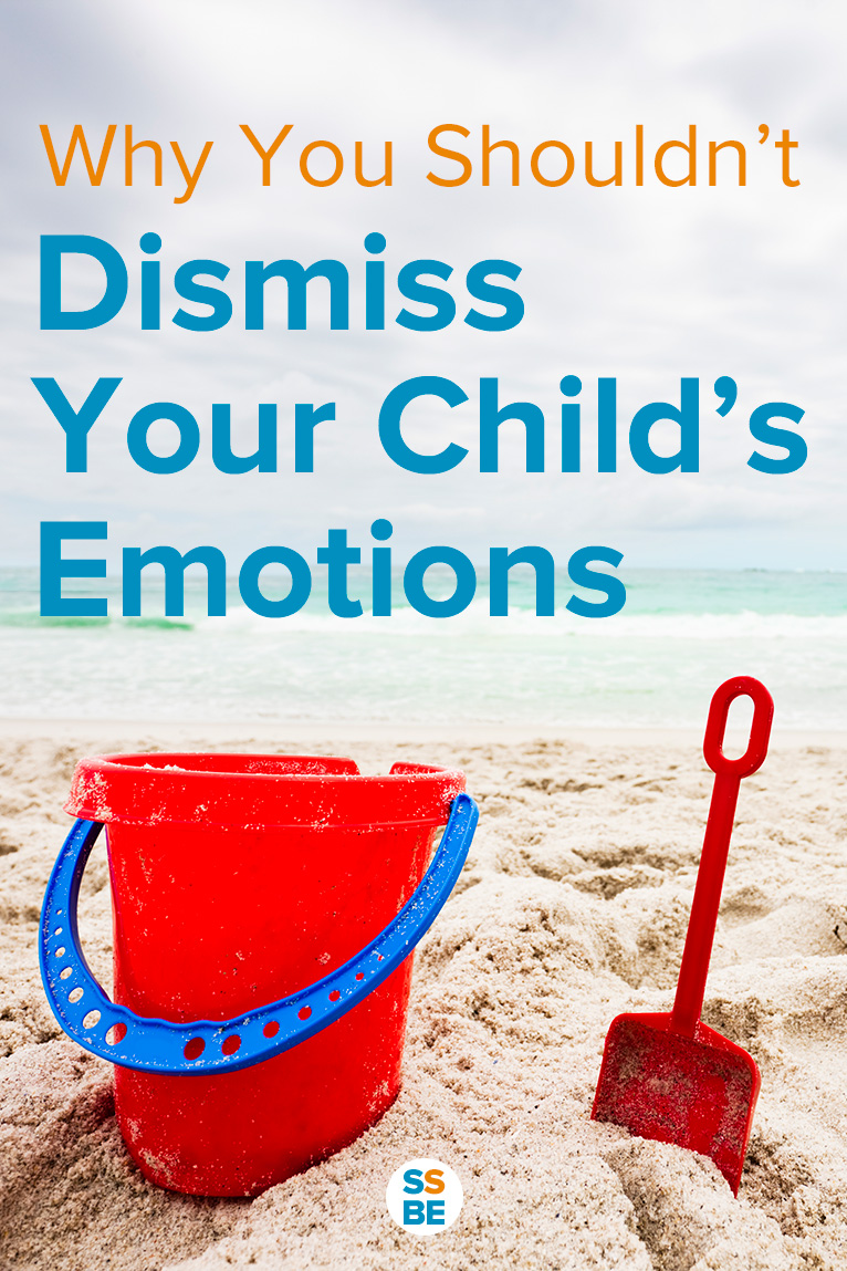 "How often do we reassure our kids by saying ""It's okay""? We try to make them feel better, but here's why you shouldn't dismiss the emotions of a child."