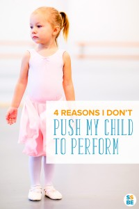 Your kids do the cutest thing, but is it right to make them perform, especially when they resist? Here's why I don't push my child to perform in front of others.