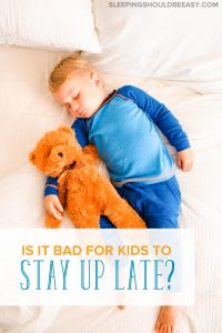 Is your toddler going to bed too late? Learn ideal bedtimes for your child, the perks of putting your kids to bed early and why late bedtimes can be bad.