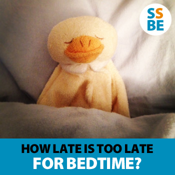 How late is too late for your child's bedtime?