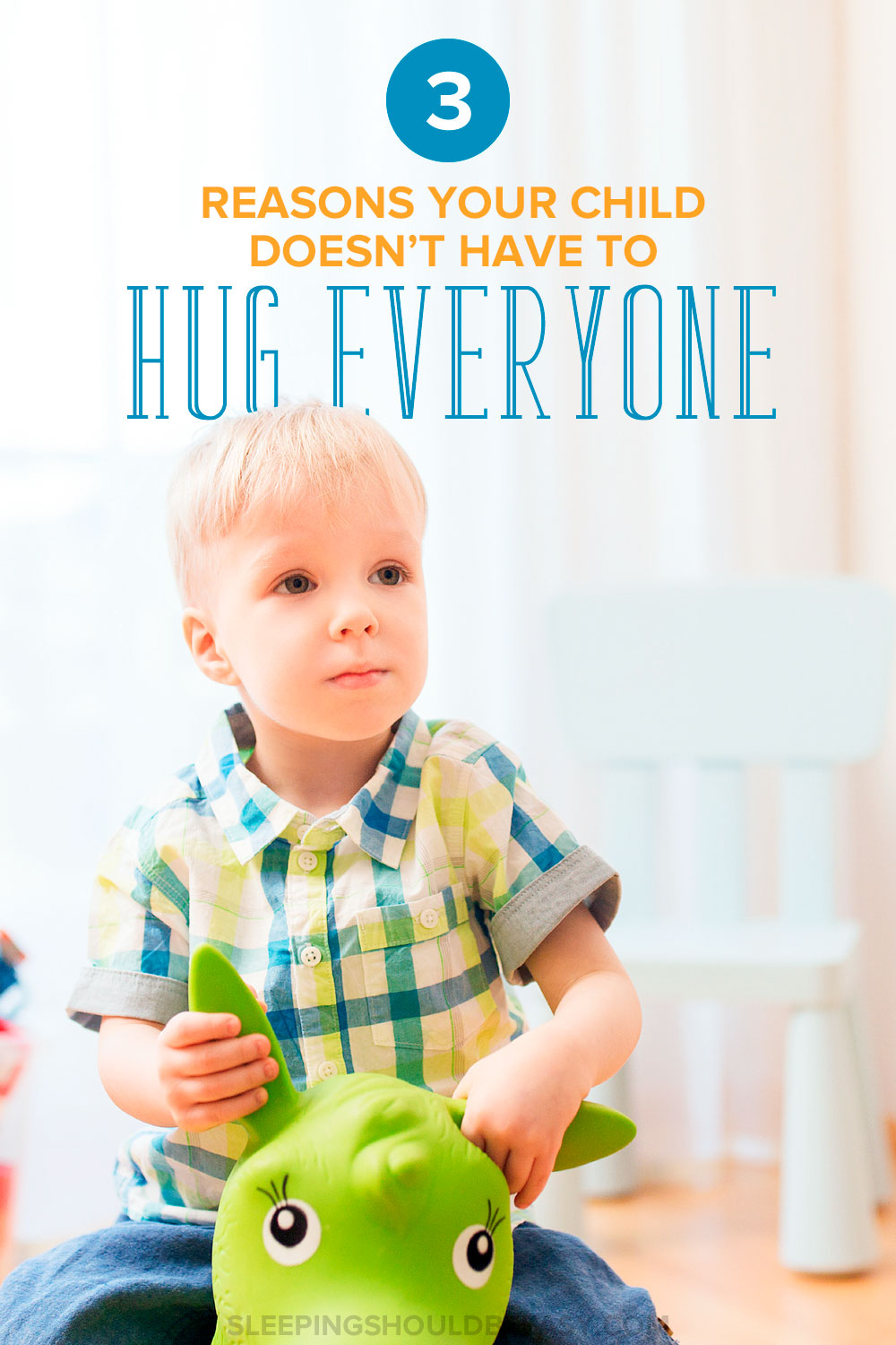 It might seem polite to have kids hug others, even those they don't know, but here are 3 reasons your child doesn't have to hug everyone.