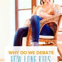 Why Do We Debate How Long Kids Are Breastfed?