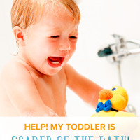 """""""Help! My Toddler is Scared of the Bath."""""""