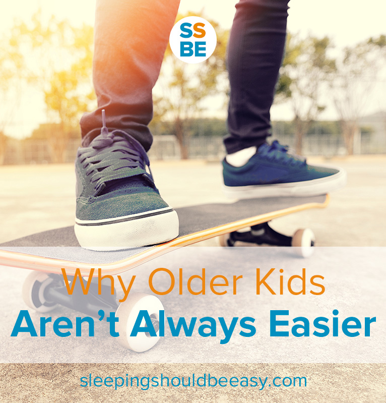 Find yourself wishing your kids were older already to avoid your current challenges? Don't rush—here's why older kids aren't always easier.