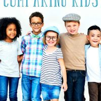 Group of children: The harmful effects of comparing kids