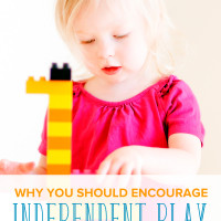 Encourage Independent Play with Your Child