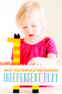 Children benefit from playing on their own and using their imagination. Read the reasons why, and how to encourage independent play with your children.