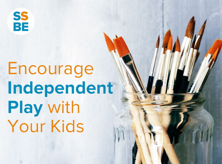 Encourage Independent Play with Your Kids