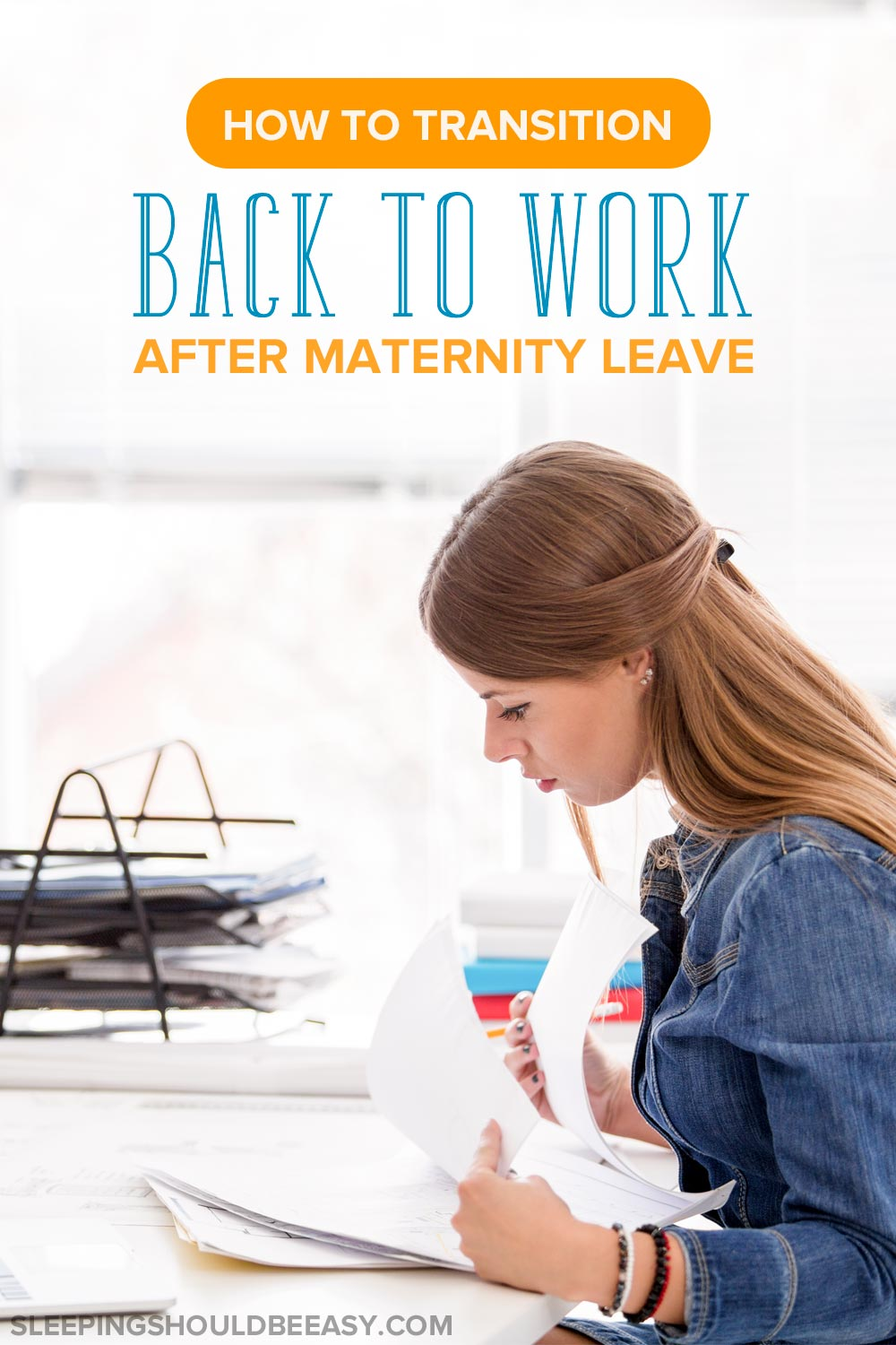 After weeks or months at home with the baby, learn how to cope with going back to work after maternity leave and ease the transition back to work.