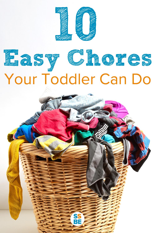 10 Easy Chores a Toddler Can Do