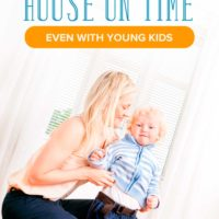 How to Leave the House on Time (Even with Kids)
