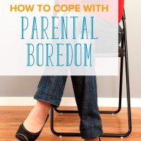Suffering from parental boredom? Sometimes playing with kids get tiresome. Here are tips for those days when parenting is anything but fun and exciting.