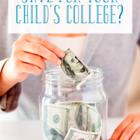 Should You Save for Your Child's College?