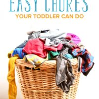 10 Easy Chores Your Toddler Can Do