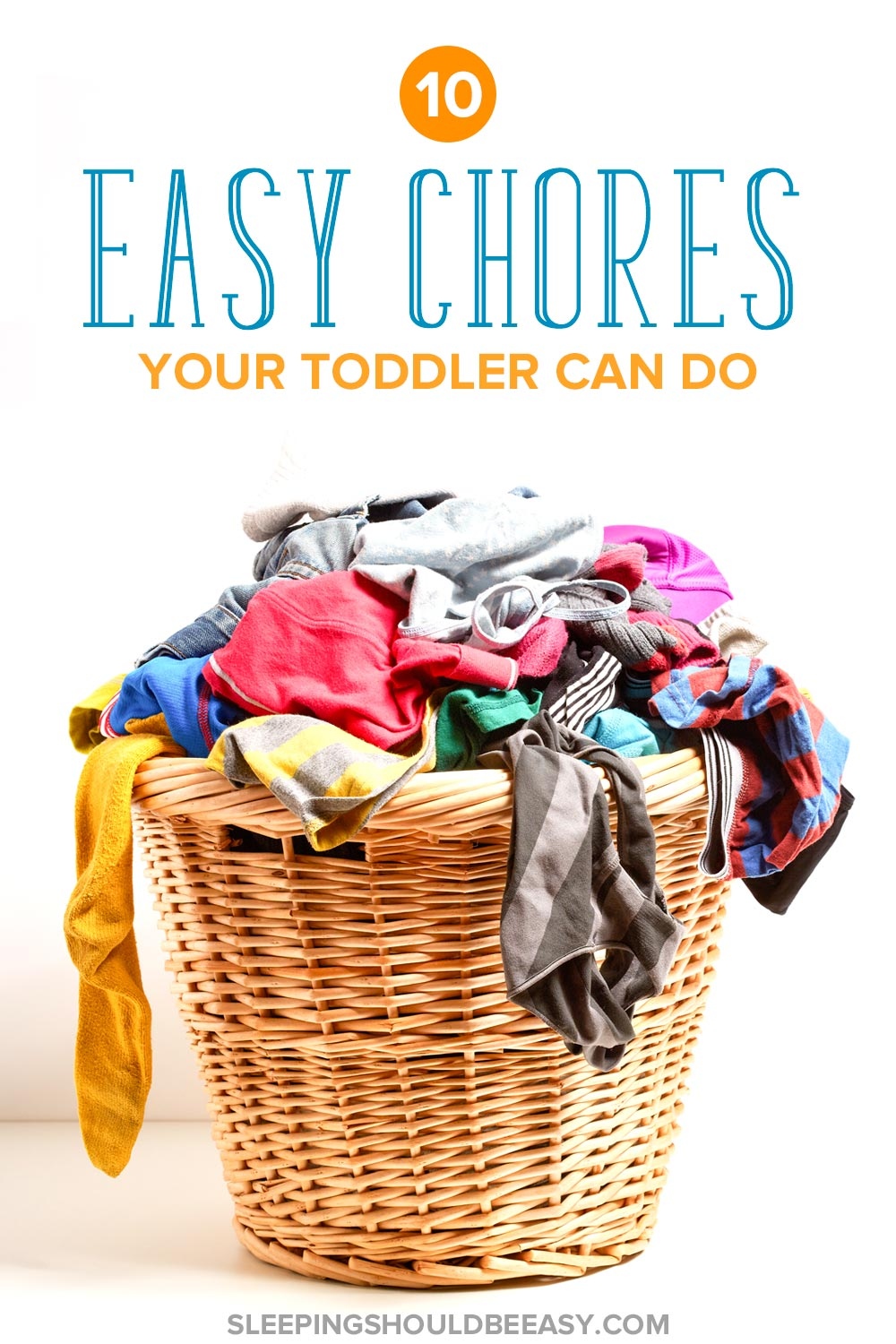 Start early with toddler chores and make them fun! Giving kids chores has many benefits and is easy to do. Below are 10 easy chores a toddler can do.
