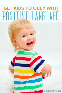 """The best way for kids to obey isn't by telling them """"no"""" all the time, but to say """"yes."""" Here's how to get kids to obey using the power of positive parenting."""