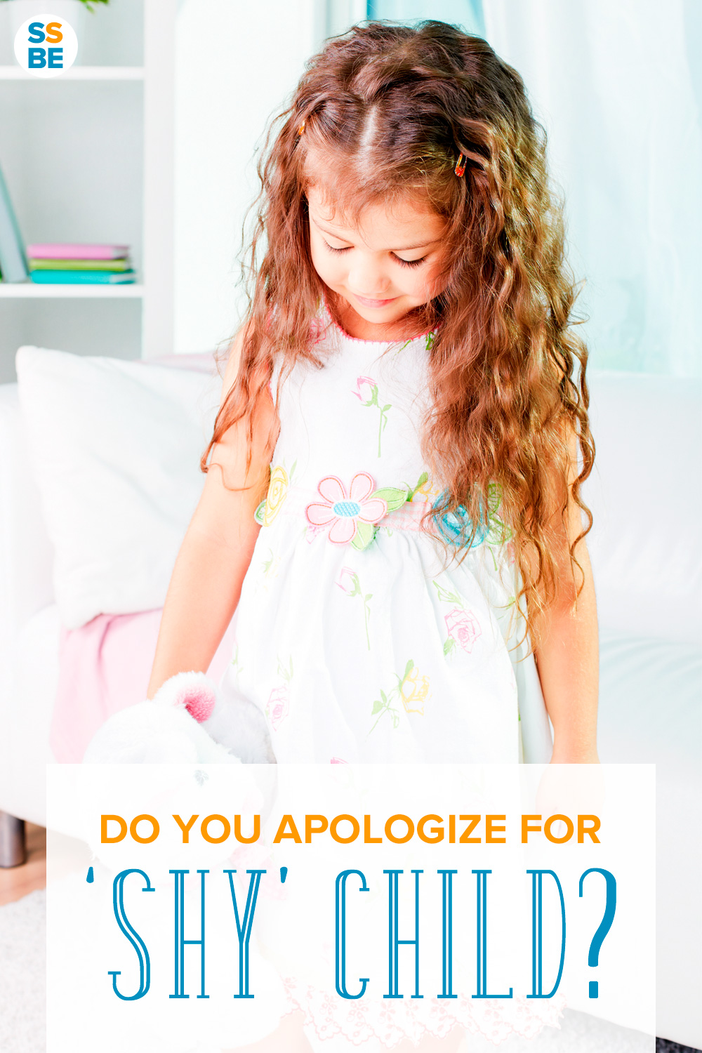 Do you apologize to others for your child's shyness? Here's why you shouldn't apologize about your shy child — and what to do instead.