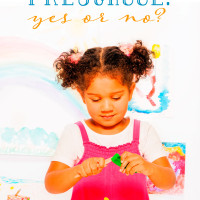 Should You Send Your Child to Preschool?