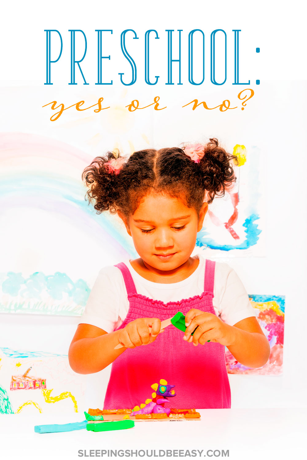 Preschool: Yes or no? Considering sending your child to preschool? Discuss preschool pros and cons and whether you should send your child to preschool.