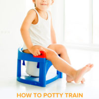 How to Potty Train a Toddler in 3 Days