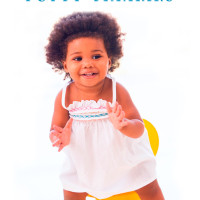 Girl sitting on a potty: 8 ways to prepare for potty training