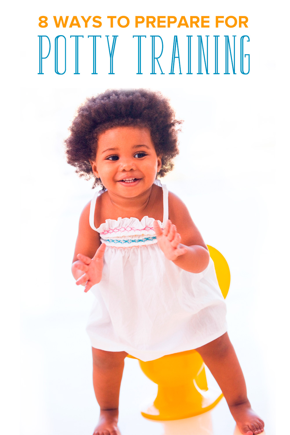 Potty training can begin long before your child sits on one. Learn how to start potty training with these 8 simple ways to get you off to a good start.