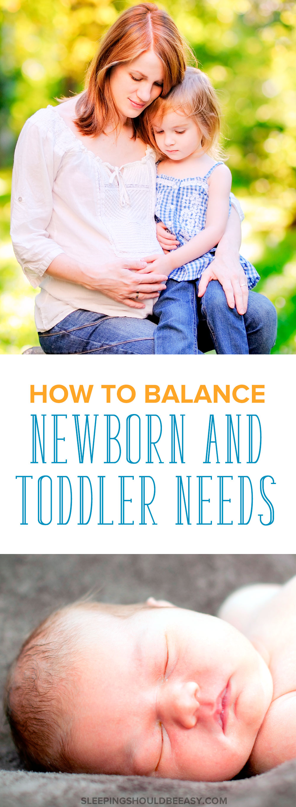 Are you expecting your second child? Caring for a newborn AND a toddler takes some juggling. Here are some tips on balancing newborn and toddler needs.