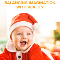 Santa and Kids: Balancing Imagination with Reality