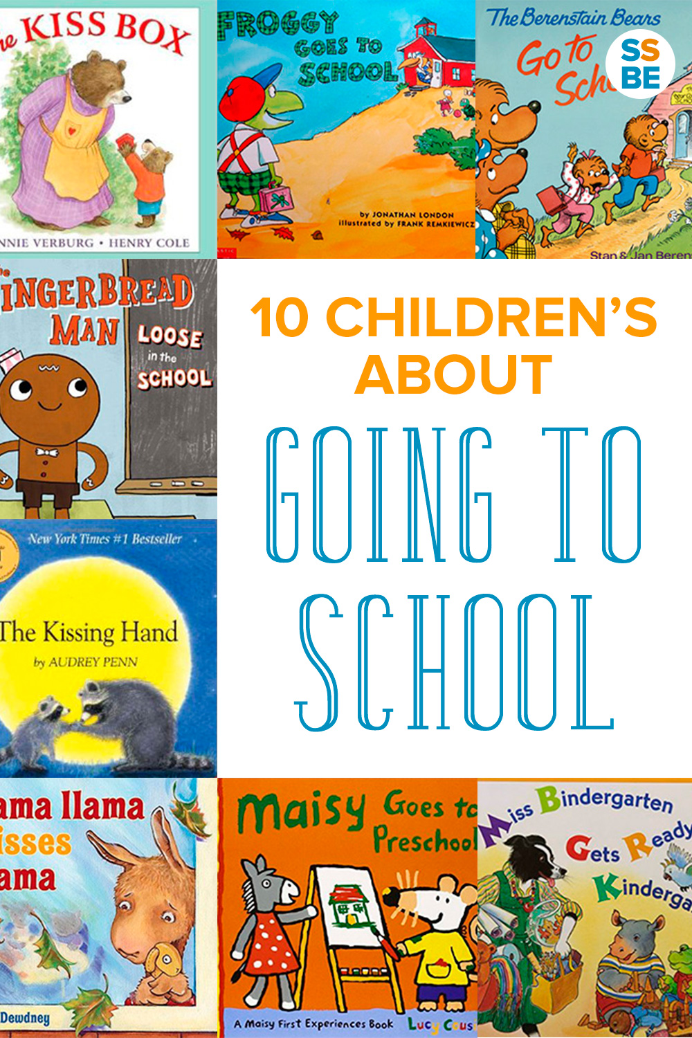 10 Children's Books about Going to School