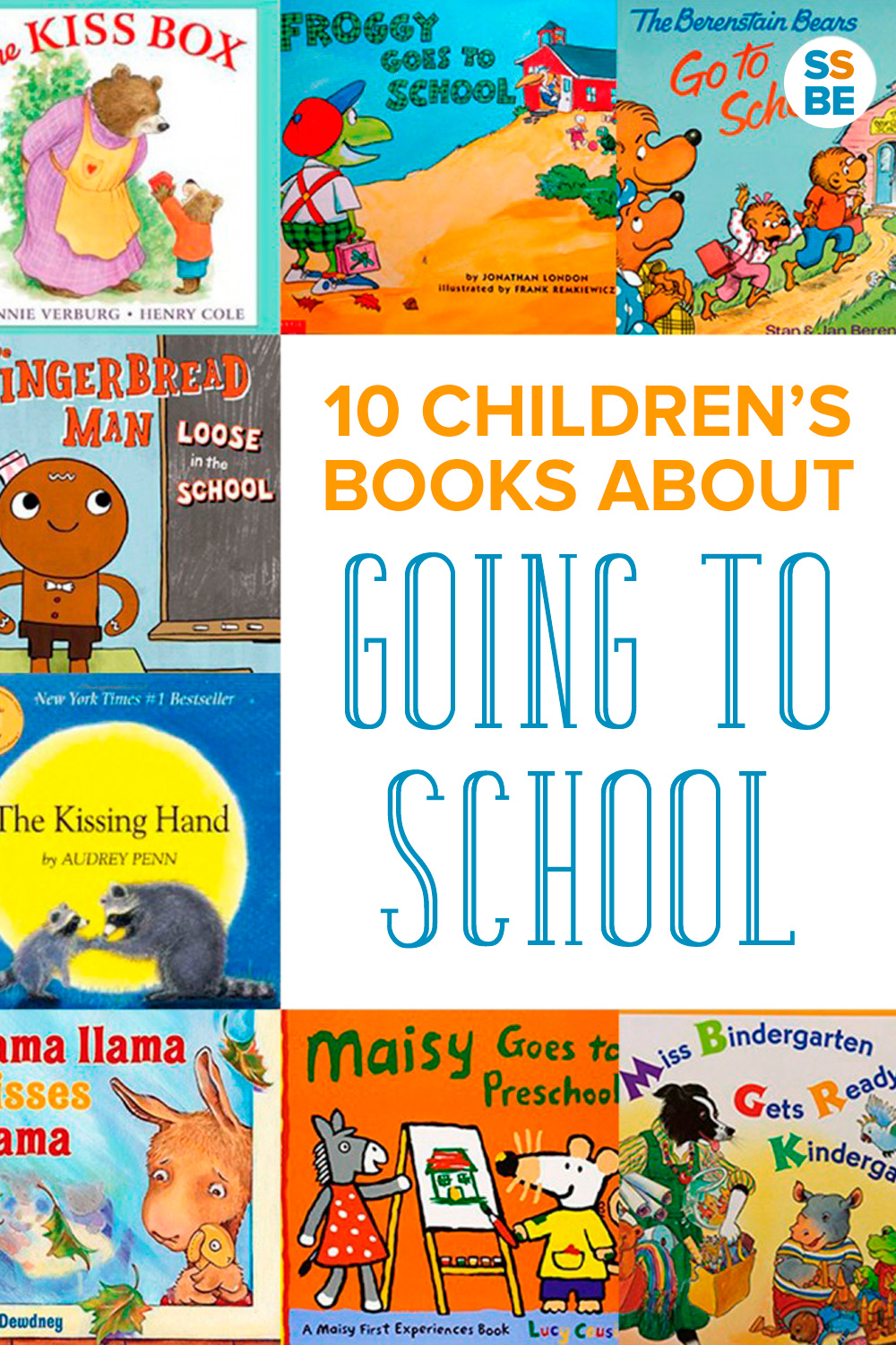 Is your child going to school for the first time? Read these 10 children's books about going to school to get him excited and ready for the big day.