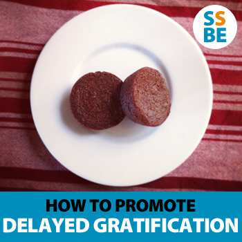 How to promote delayed gratification in children