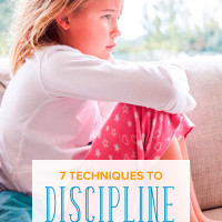 7 Techniques to Discipline Children