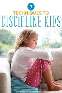 Sad little girl: 7 techniques of disciplining children