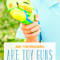 Are Toy Guns Ever Okay?