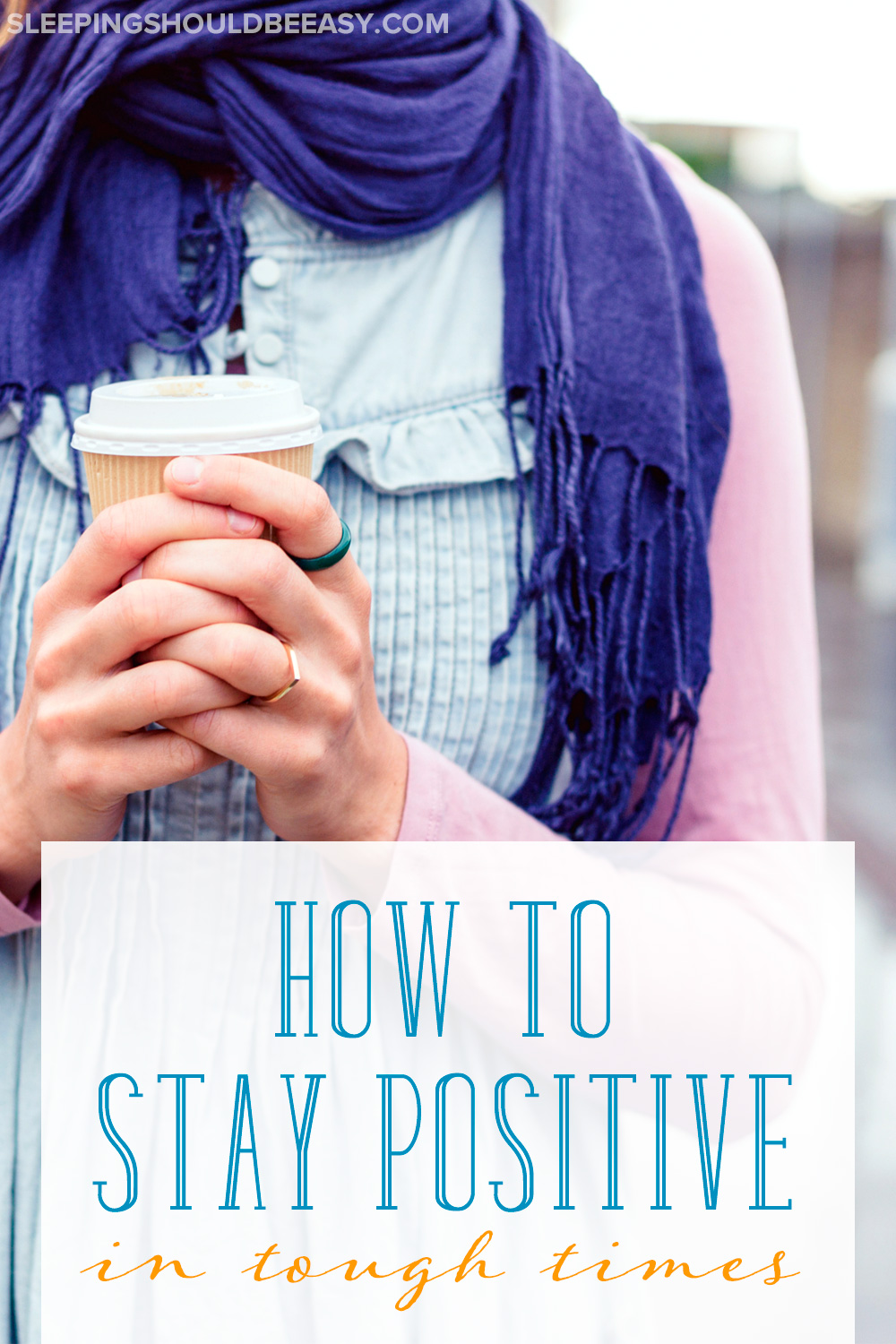 For many parents, difficult times are hard to overcome, and challenges never seem to end. Here's how to stay positive when pregnant and times are tough.