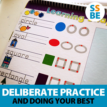 5 ways to encourage deliberate practice and doing your best