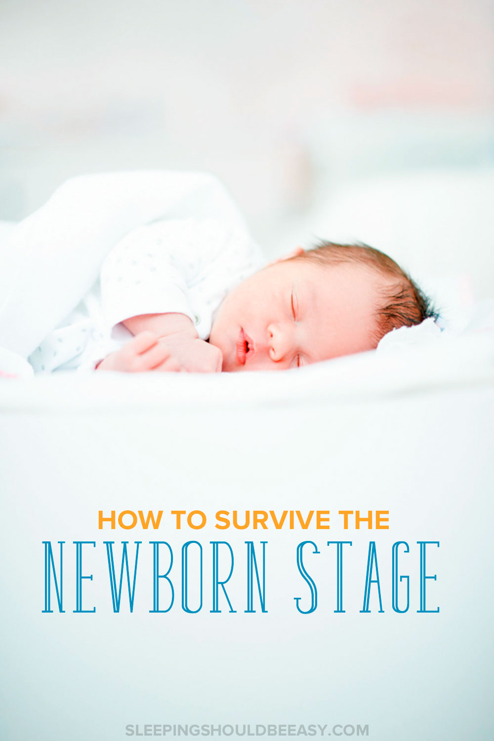 The newborn stage is hard. You're sleep deprived and dealing with a baby 24/7. Here are tips on how to survive the newborn stage and sleep deprivation.