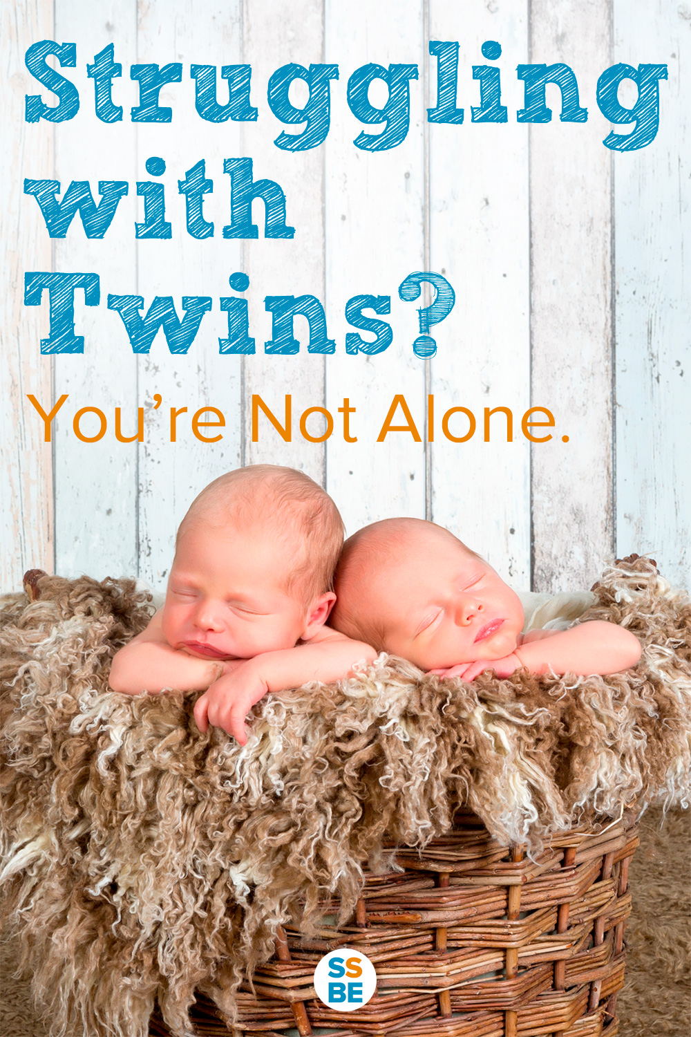 Are you struggling with twins and feeling isolated and alone? Learn why it's hard raising twins, how to cope, and the encouragement you need to hang in there.