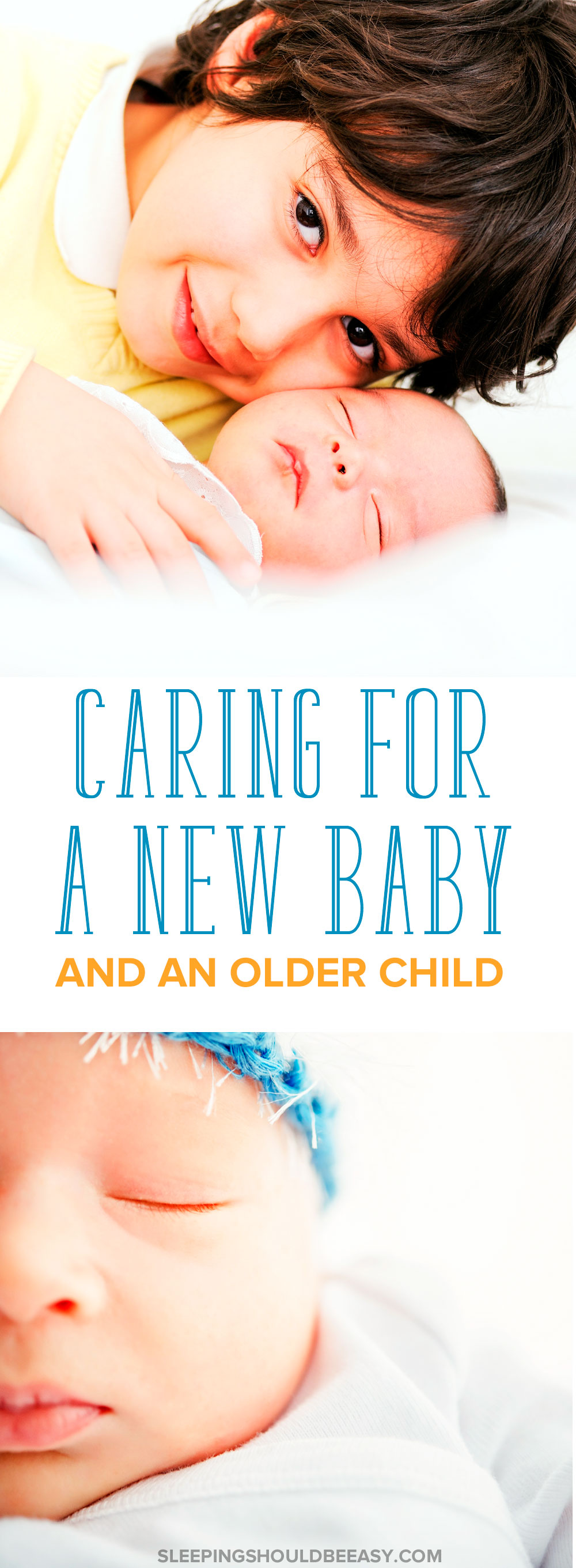 What do you do when you're caring for a baby AND your older child? Here are tips on handling a toddler and a newborn and how to balance their needs.