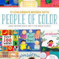 These 11 children's books include people of color (and where the focus of the book isn't about race or ethnicity).