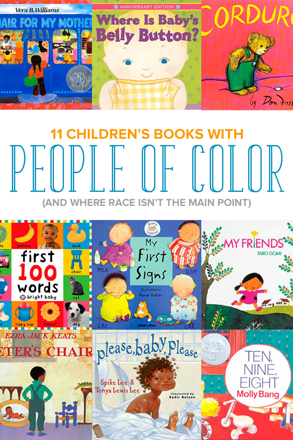Children\'s Books about People of Color: Celebrating Diversity in ...