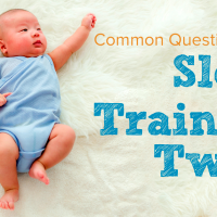 Common Questions about Sleep-Training Twins