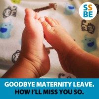 Goodbye, Maternity Leave. How I'll Miss You So.