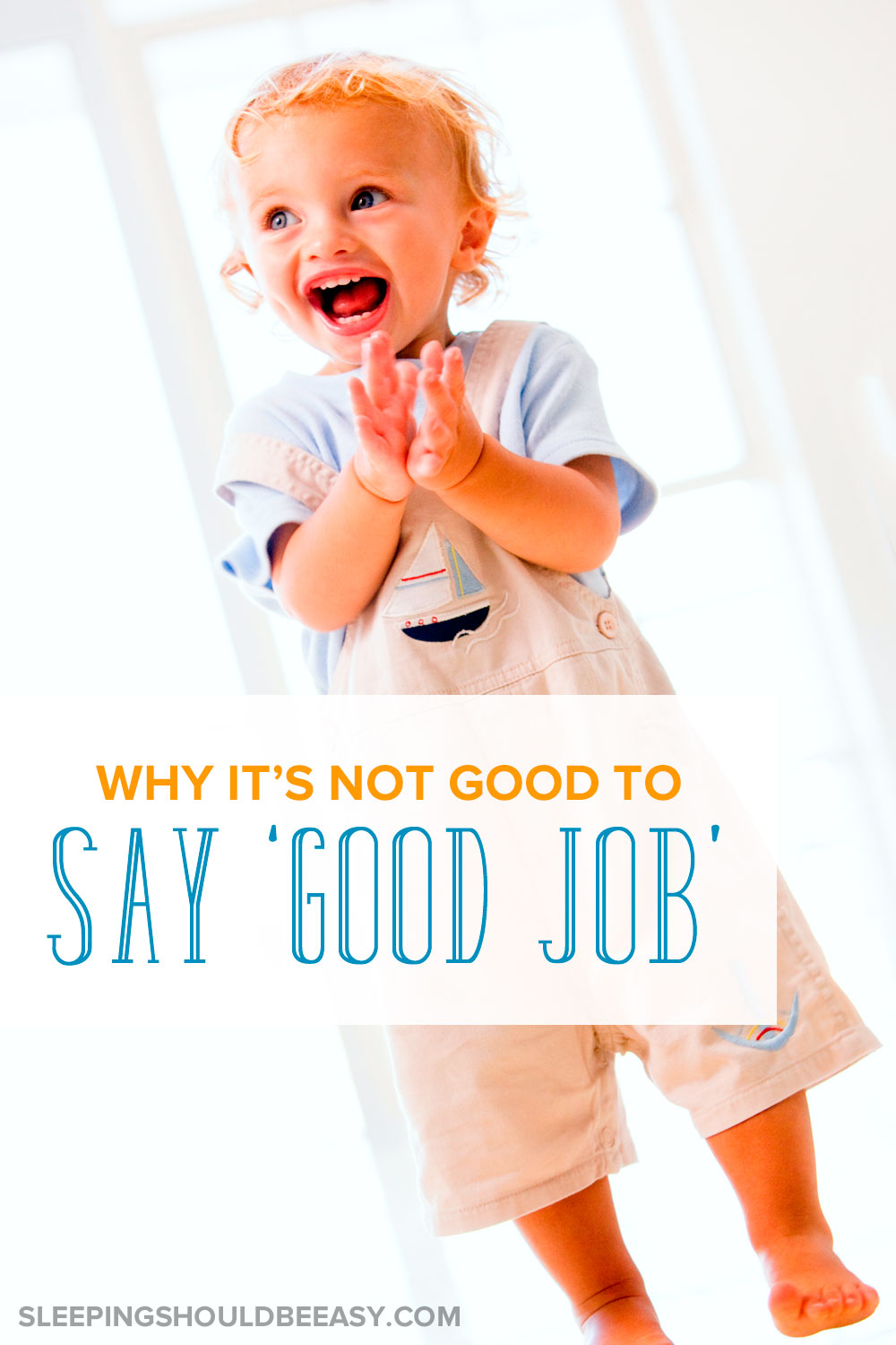 "A compelling reason why parents should stop saying ""good job"" to their kids. Even though it's a common phrase, saying ""good job"" can actually be sending the wrong message. See if you can try the alternative ways to praise instead."